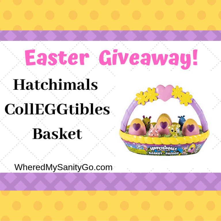 Giveaway: Hatchimals CollEGGtibles Basket