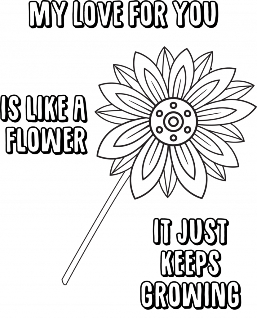 Free Printable Mothers Day Coloring Pages For Kids | Mothers day ... | 1024x829