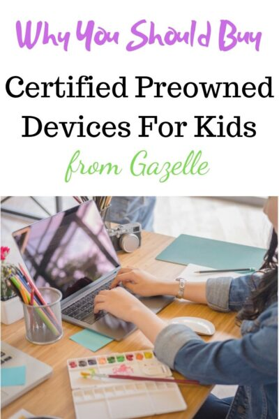 Certified Preowned Devices for Kids