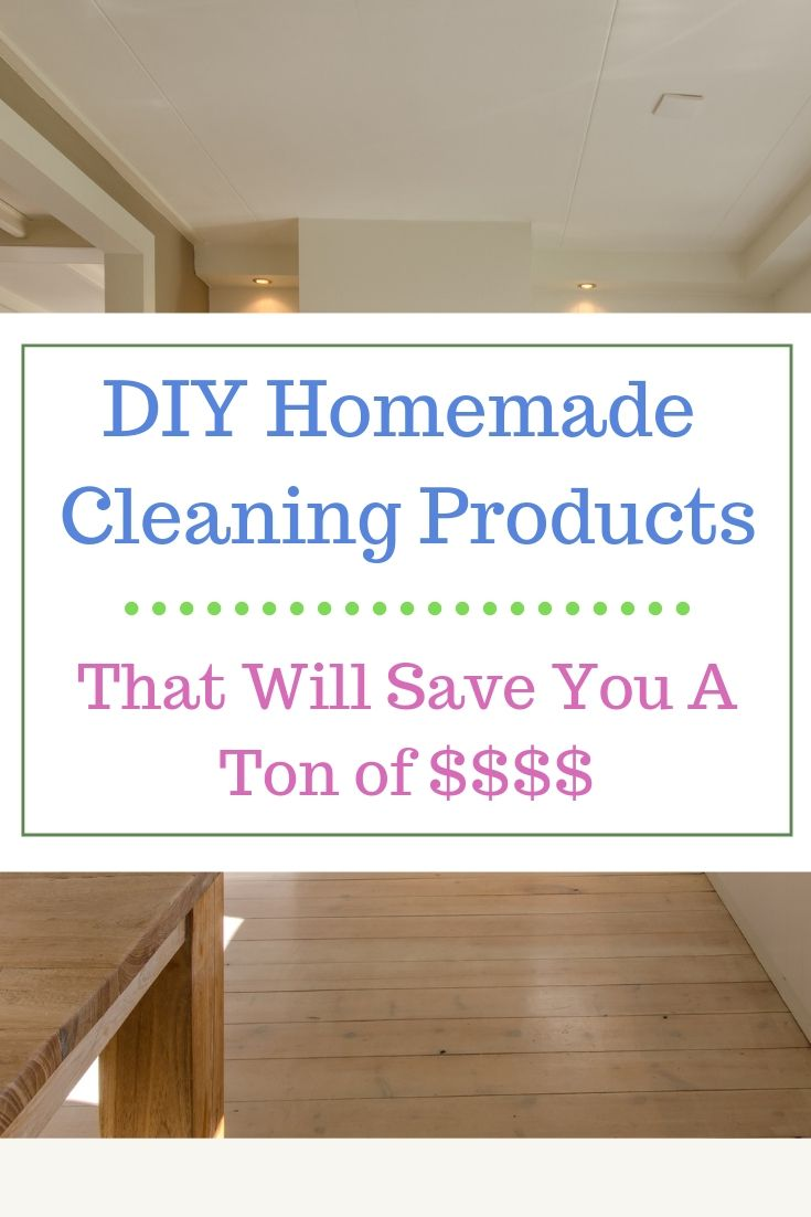DIY Homemade Cleaners That Will Save You Money