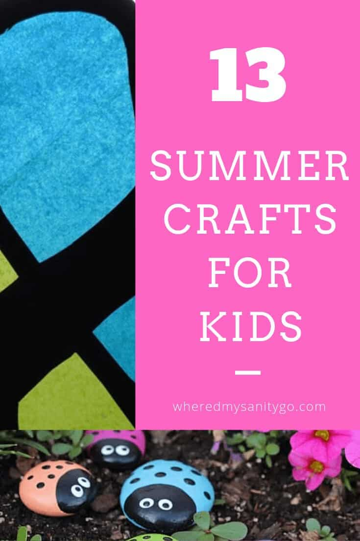 Summer Crafts Kids Will Love Creating {Making New Childhood Memories}