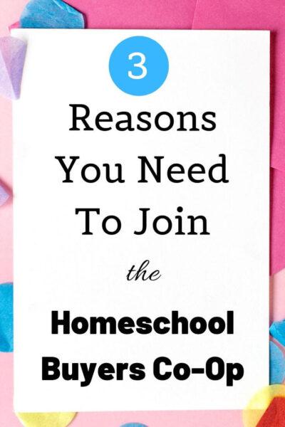 homeschool buyers co-op