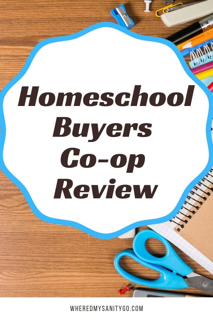 Homeschool Buyers Co-op Review
