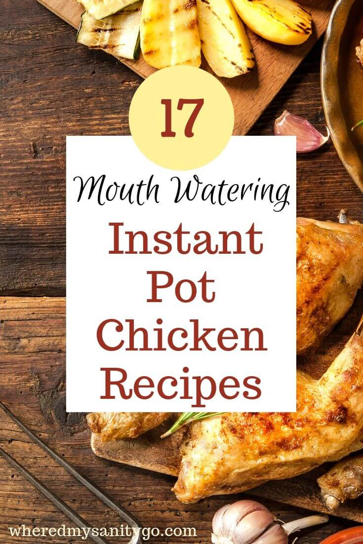 17 Mouth-Watering Instant Pot Chicken Recipes You Need To Try