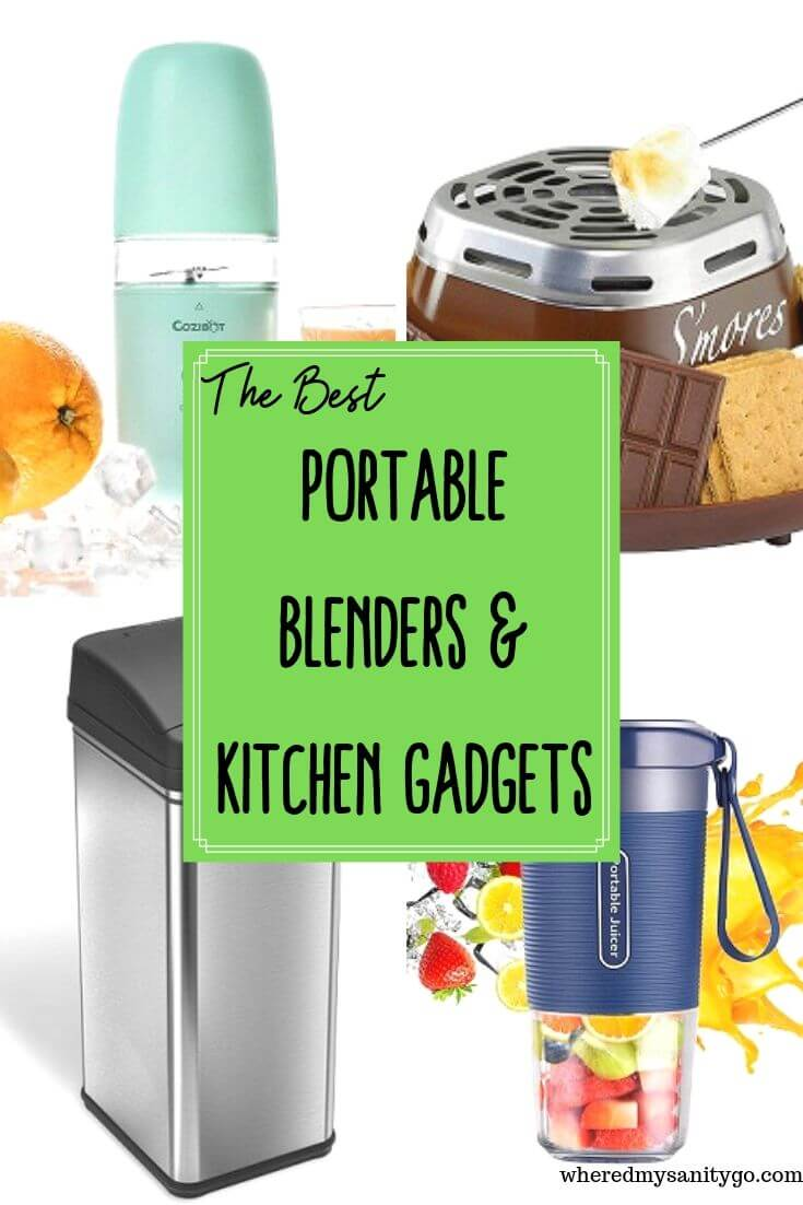 Portable Blenders and Portable Kitchen Gadgets That Make Your Life Easier