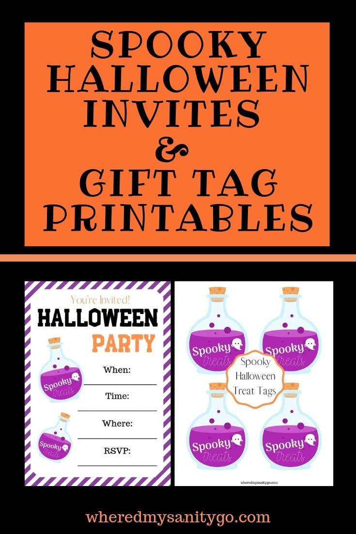 Spooky Halloween Invitations