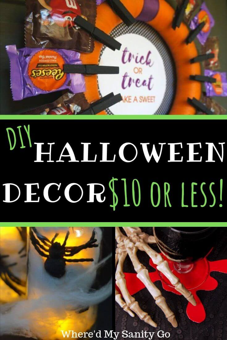DIY Halloween Decor You Can Make for Under $10