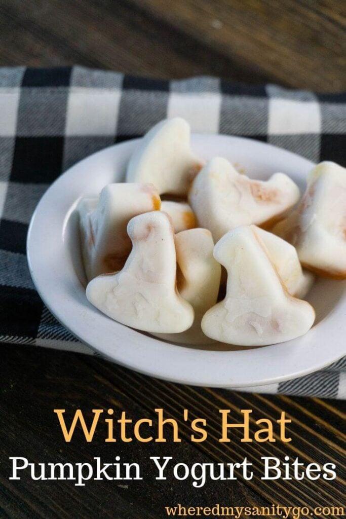 Pumpkin Yogurt Witch Hat