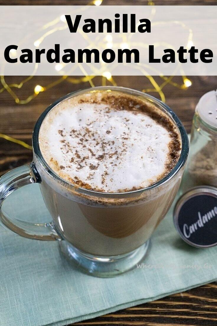 Vanilla Cardamom Latte Recipe - Delicous and Easy
