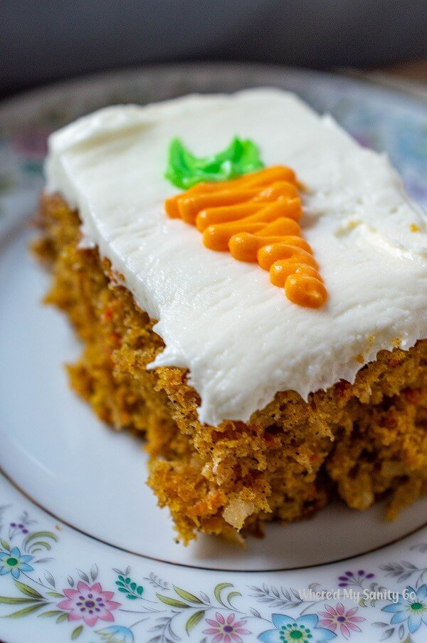 Pumpkin Carrot Cake with Coconut and a Cream Cheese Frosting