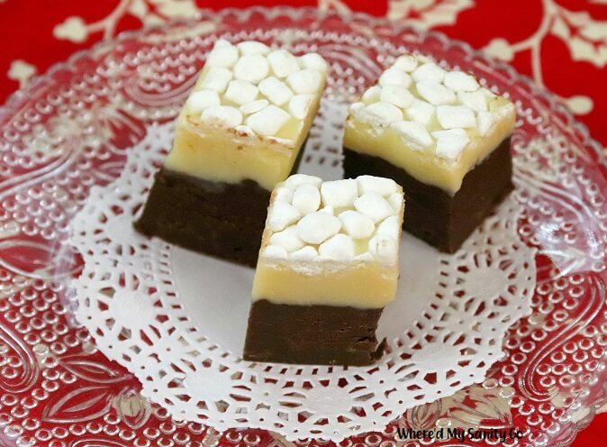 Eggnog Fudge Recipe