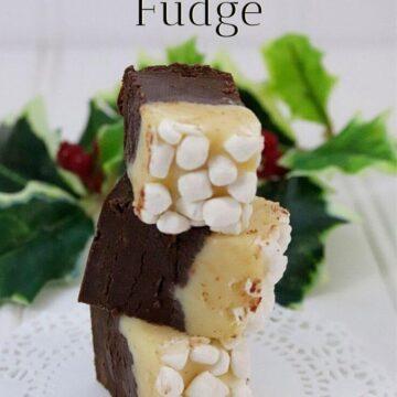 Eggnog Hot Chocolate Fudge Recipe