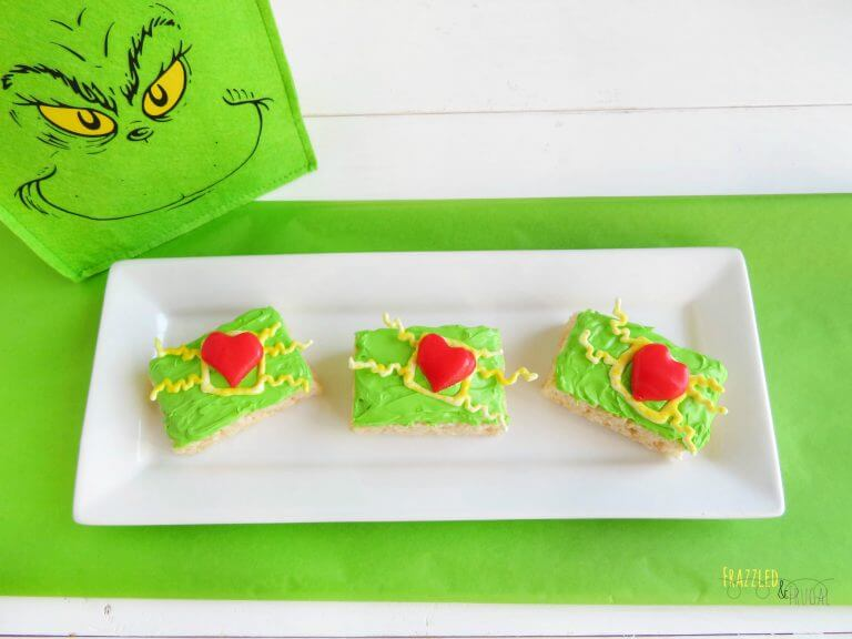 Cute Grinch Snacks