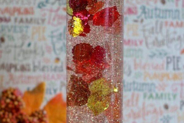 DIY Glitter Sensory Bottle