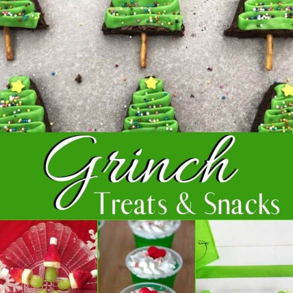 grinch snacks and desserts