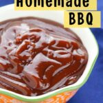 Homemade BBQ Sauce Recipe with Ketchup and Brown Sugar