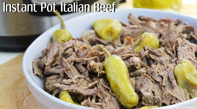 Instant Pot Italian Beef is perfect for a delicious dinner
