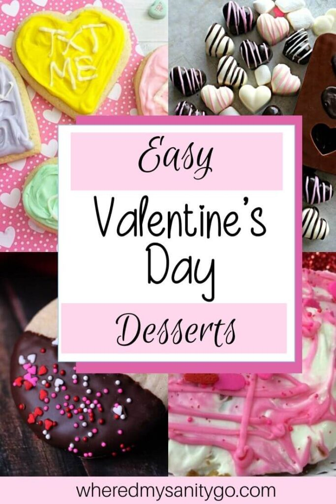 Easy Valentines Day Dessert Recipes