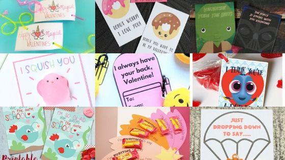 Mega List of Free Printable Valentines Day Cards