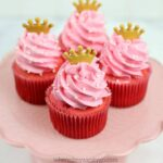 Disney Princess Cupcakes Pink and Red for Aurora Maleficent