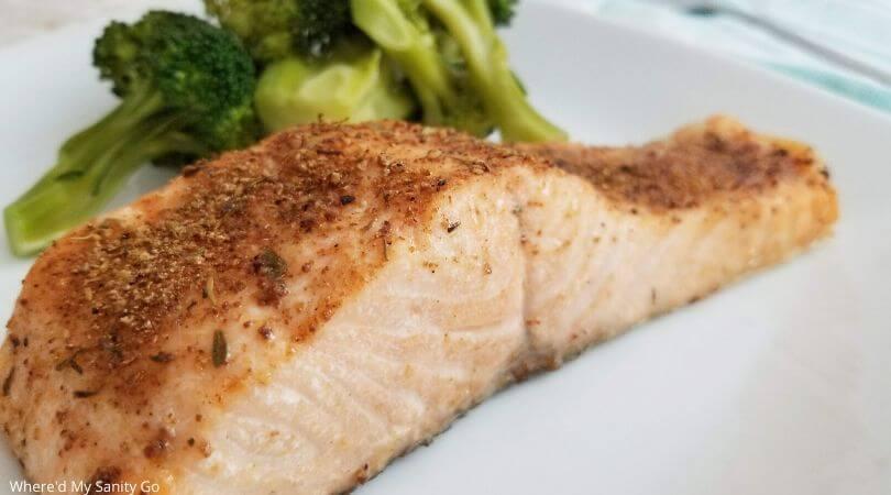 Easy Air Fryer Blackened Salmon Recipe