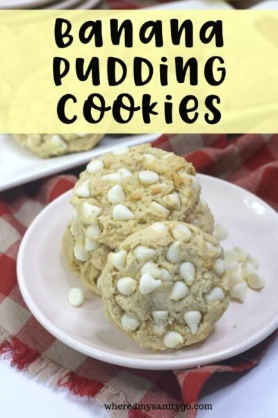 Banana Pudding Cookies