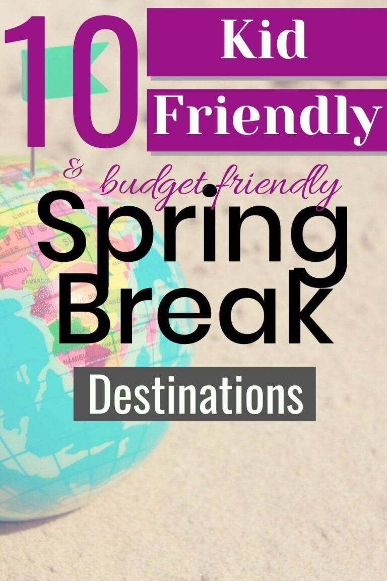 Kid Friendly Spring Break Ideas for Families On A Budget