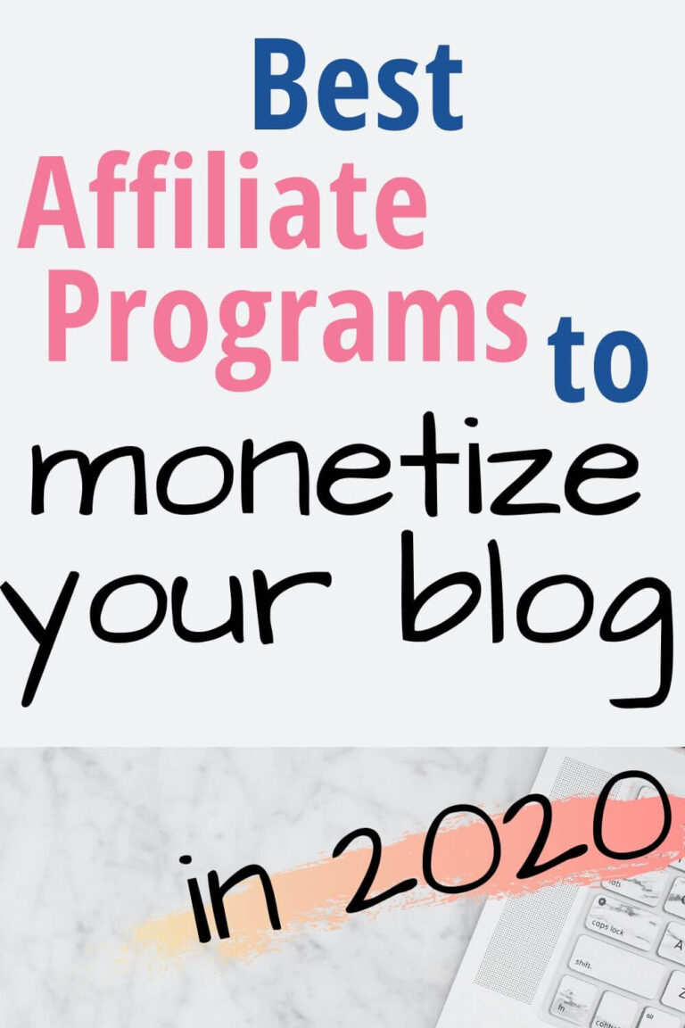 Affiliate Programs for Bloggers To Help Monetize Your Blog or Website