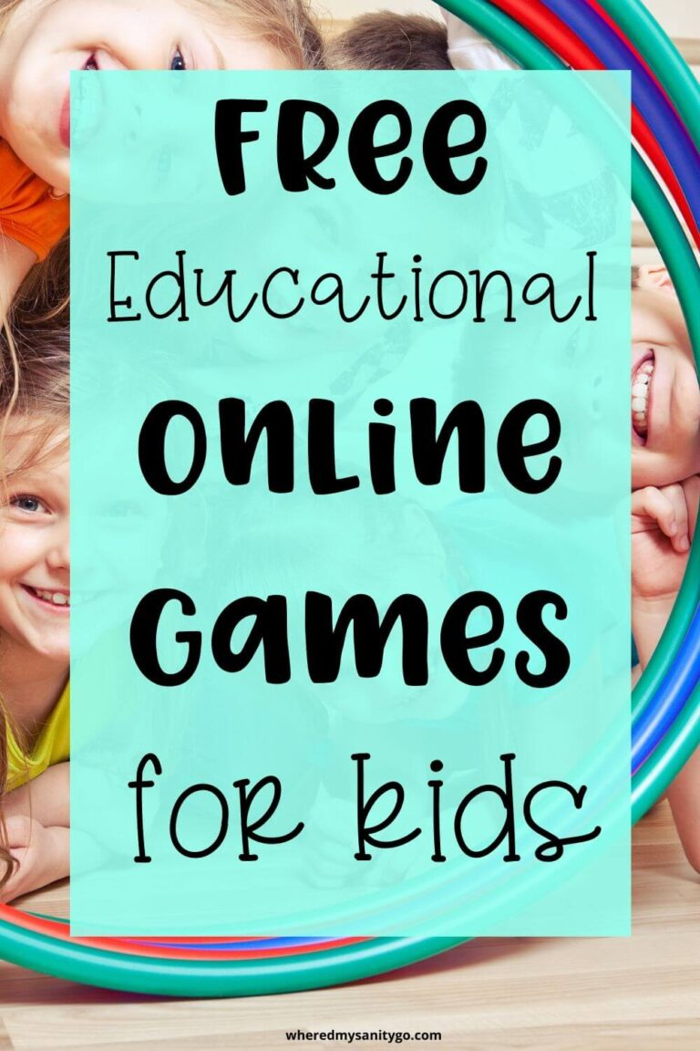 Educational Online Games for Kids That Are Fun and Free