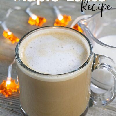 Easy Maple Latte Recipe