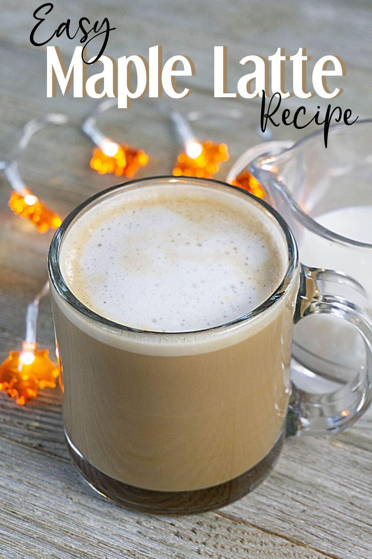 Easy Maple Latte Recipe