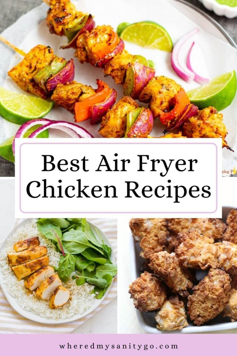 Air Fryer Chicken Recipes That Are Ohh So Good