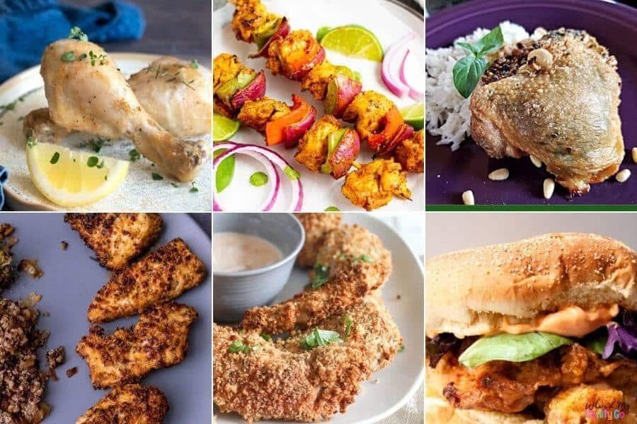 Easy Air Fryer Chicken Recipes