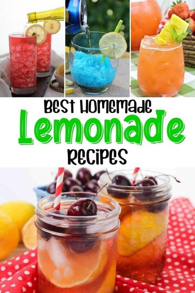 Homemade lemonade recipes for summer
