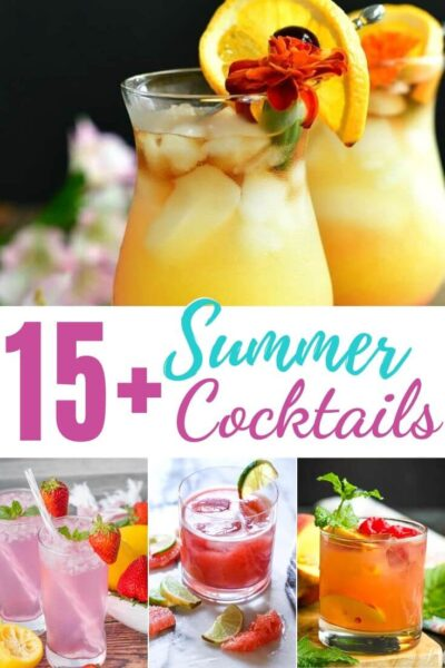 Best Summer Cocktails and Boozy Adult Drink Recipes