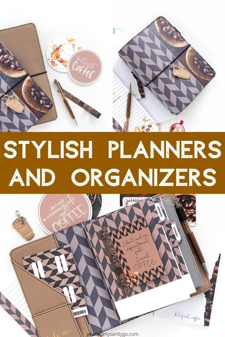 Tula Xii Stylish Planners and Organizers Coffee Style
