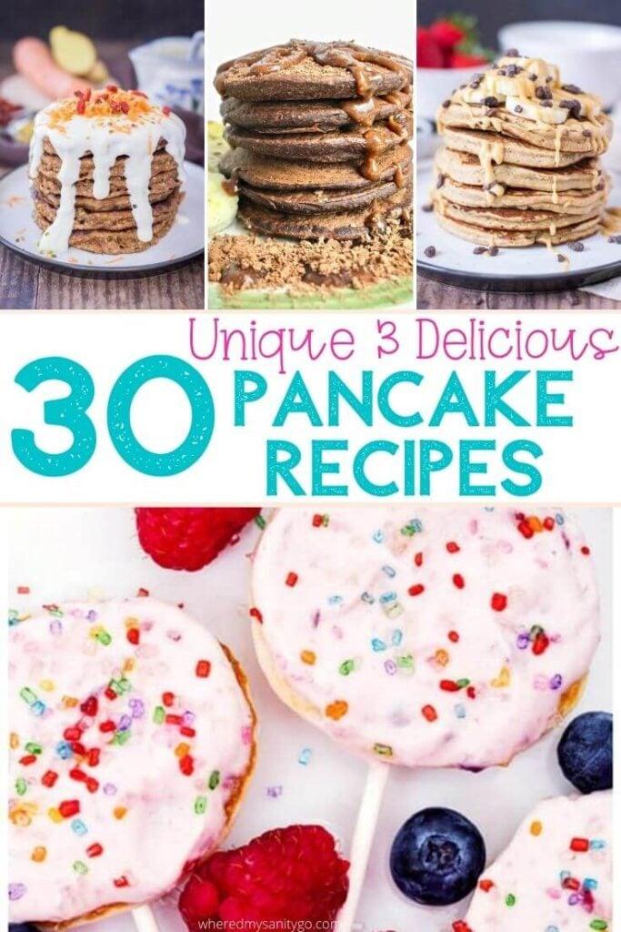 30 Creative Pancake Ideas Unique Pancake Recipes