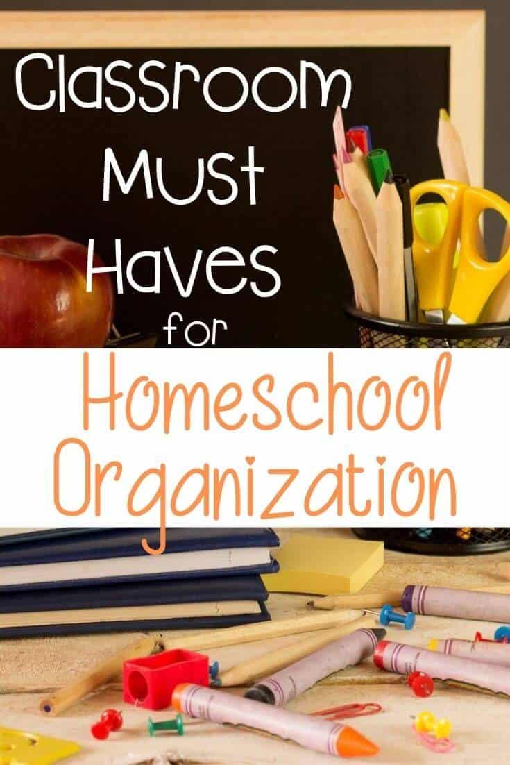 Amazon Classroom Must Haves for Homeschool Organization