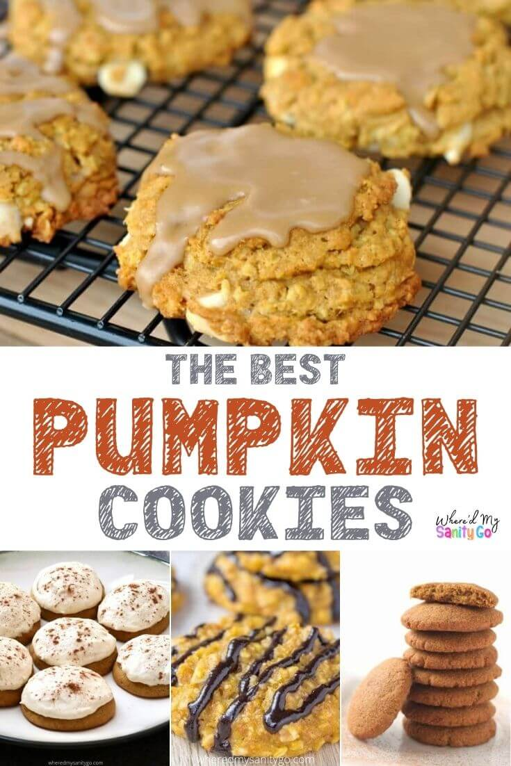 50+ Pumpkin Cookie Recipes That'll Knock Your Socks Off