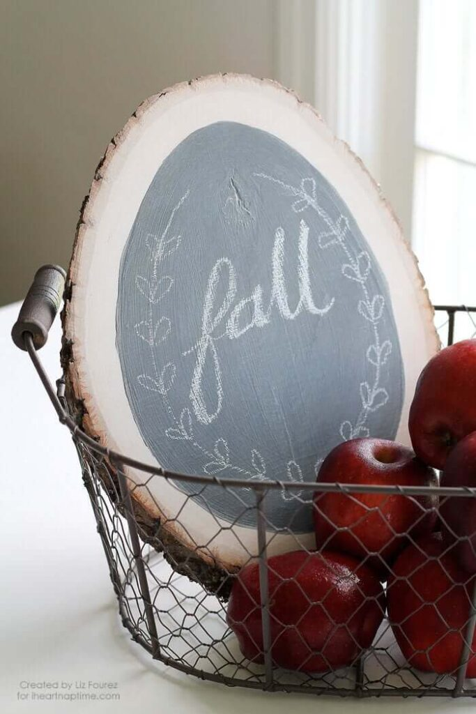 Fall Chalkboard Sign Easy DIY Fall Decor Ideas and Easy Fall Crafts for Adults