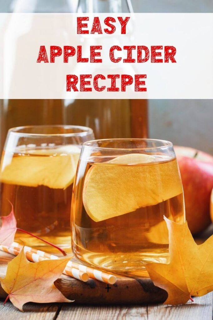 How To Make Homemade Apple Cider Recipe for Fall