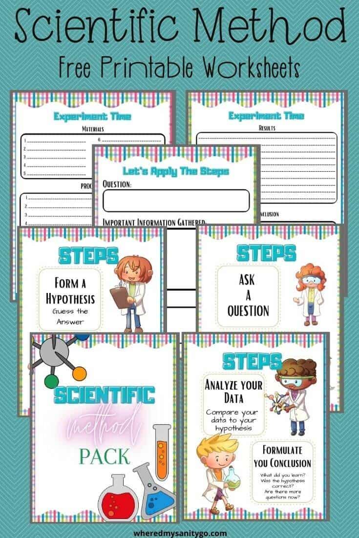 Scientific Method Printable Worksheets