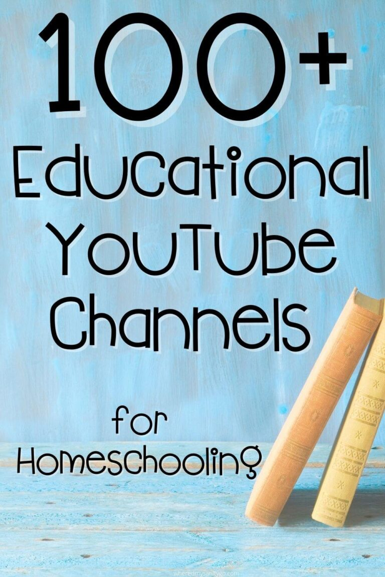 100+ Educational YouTube Channels for Homeschooling