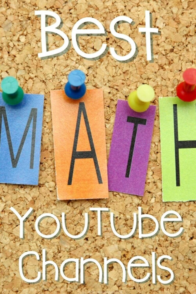 Best Math YouTube Channels and Math Videos for Homeschooling