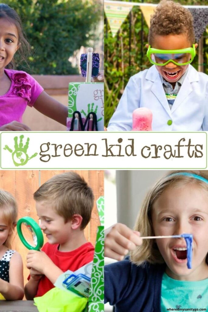 Green Kid Crafts: Educational Art and Science STEAM Kits