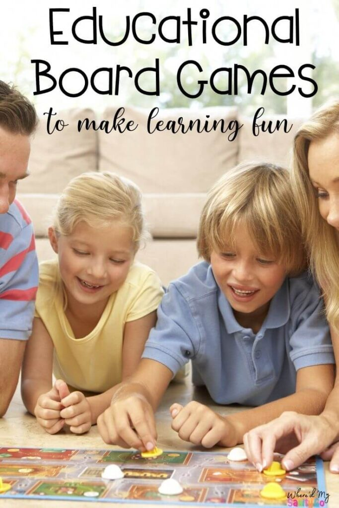 Educational Board Games for Your Homeschool To Make Learning Fun