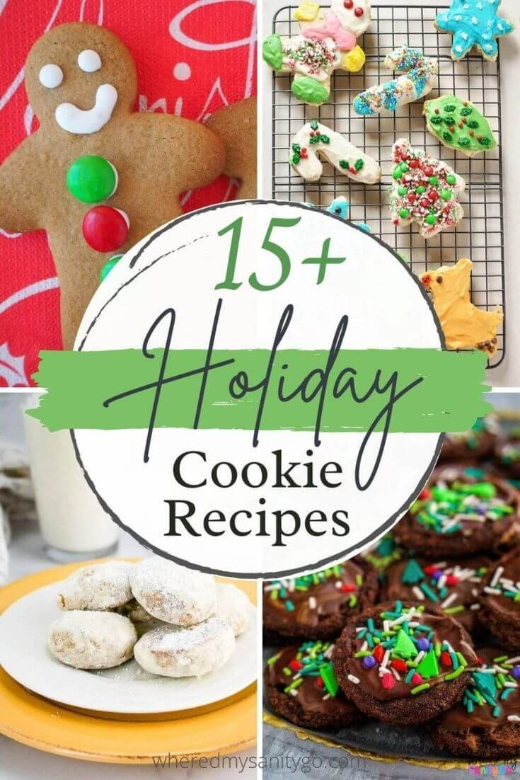15 Holiday Cookie Recipes
