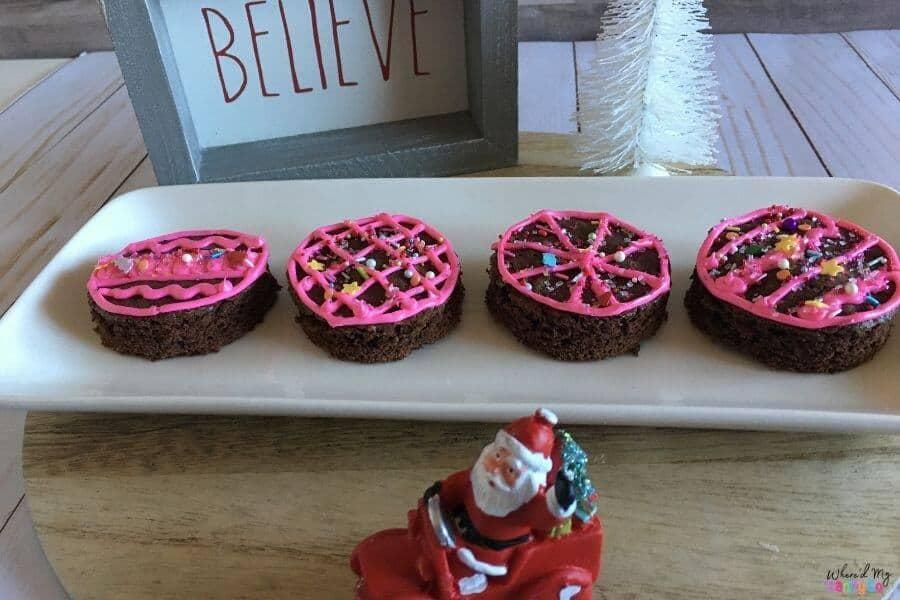 Easy Christmas Brownie Mix Cookies