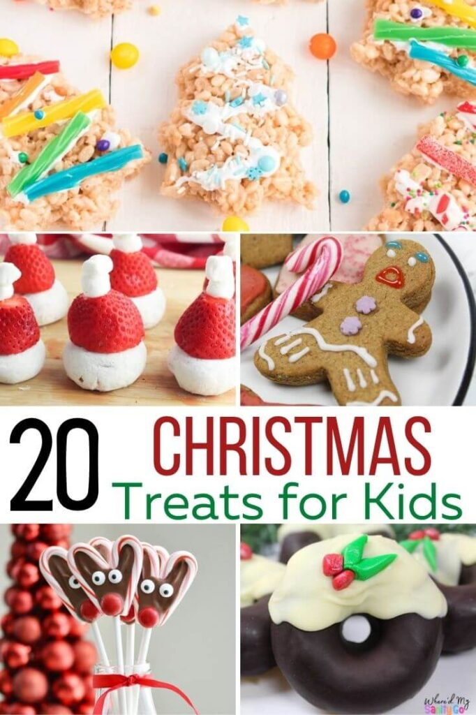 Christmas Treats for Kids That Are Fun and Easy to Make