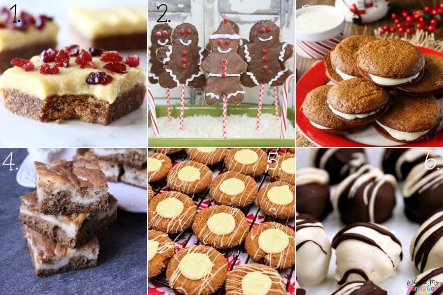 Easy Gingerbread Desserts